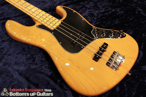 "FREEDOM CUSTOM GUITAR RESEARCH x BUG ""Guitar of The Month"" Jazz Bass (JB) 4弦 アクティブ【1P Figured Light Ash × Maple FB】"