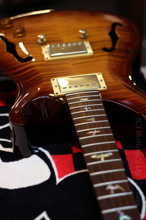 PRS McCarty ArchtopII 1999 Double 10TOP on the tech desk