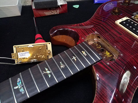 PRS Japan Limited BZF McCarty Red Tiger -ピックアップ交換 & FSE Custom Tone Capacitor 装着-