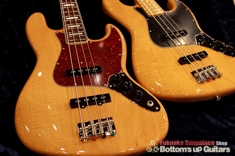 "FREEDOM CUSTOM GUITAR RESEARCH x ボトムズアップギターズ ""Guitar of The Month"" Jazz Bass (JB) 4弦【Flame 1P Light Ash × Rose FB】"